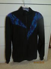 Tinley Long Sleeve Black Purple Blue Turquoise Fleece Cycling Bike Top Cc10