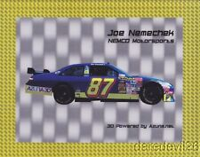 2009 Joe Nemechek Azuna 3D Toyota Camry NASCAR postcard
