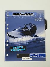 Bombardier Sea-Doo Dealer Parts Catalog Diagrams Manual 2001 GTS 5551