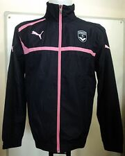 BORDEAUX 2012/13 NAVY TRACK JACKET BY PUMA ADULTS SIZE SMALL BRAND NEW WITH TAGS