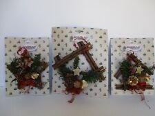 Effetto legno Free Standing Renna di Natale ornamento Outdoor Cervo Natale Art