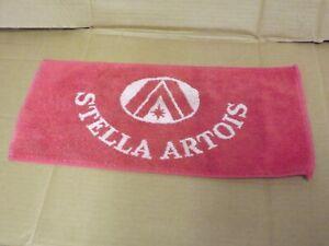 Vintage Stella Artois Bar Towel used (142)