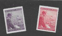 SPECIAL!  MNH Stamp complete set  /  Adolph Hitler / 1943 Birthday / Third Reich