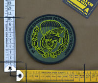 """Ricamata / Embroidered Patch It CC SF """"1°Btg. Tuscania"""" with VELCRO® brand hook"""