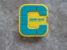 "ALPHABOTS Alphabet Letter ""C"" with Claritan Syrup Advertising - NEW"