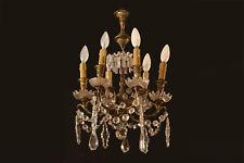Petit lustre à pampilles, Napoléon III / Small tassel chandelier 19th