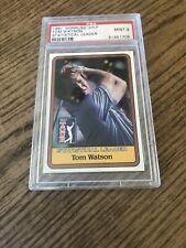 Tom Watson 1981 Donruss Stat Leader PSA 9 !