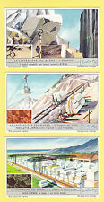 LIEBIG - SET OF 6 CARDS -  S 1594  /  F 1590  -  THE  USE  OF  MARBLE  -  1954