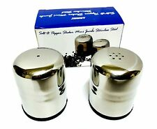 Salt and Peper Shaker Mini Stainless Steel Set Of Two, For Home and table use.