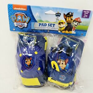 Paw Patrol Pad Set Bicycle Bike Knee & Elbow Pads Gloves Ages 3+ New
