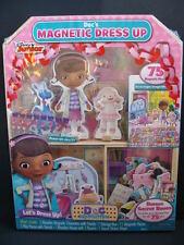 New Doc McStuffins Doc's Magnetic Dress Up 75 Piece Bonus Set Dolls Playhouse
