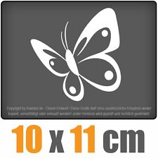 papillon 10 x 11 m JDM STICKER étiquette COURSE DISQUE voiture Voiture Blanc
