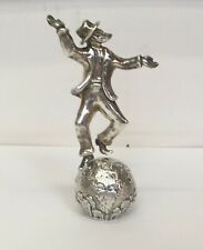 """RAPHAEL ABECASSIS """"MEN OF THE WORLD-CHABAD"""" STERLING SILVER SCULPTURE SIGNED COA"""