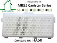 Miele SF-HA 50 HEPA AirClean Replacement Filter *NEW AH-50 fits S4 S5 S6 C2 C3