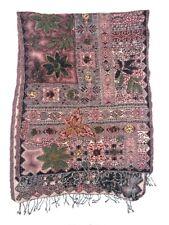 Kashmiri? Handmade Pashmina Wool Cashmere Floral Embroidered Shawl