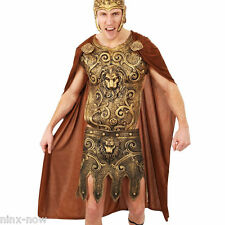 Warrior Cape Brown With Medallions Adult Costume Accessory