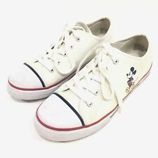 Disney Womens Mickey Mouse Shoes Sneakers White Size 9