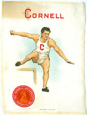 100 Year Old Cornell * Murad Tobacco Silk * Track & Field + Free Ship * Ad835