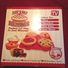MY LIL PIE MAKER AS SEEN ON TV NEW IN BOX PIE, QUICHE BAKERS