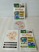 Wii Play - Nintendo Wii - Complete in Case w/ Manual - Tested