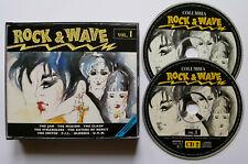 ⭐⭐⭐⭐⭐⭐⭐  Rock & Wave Vol. 1  ⭐⭐⭐  36 Track 2CD 1992  ⭐⭐⭐⭐⭐⭐⭐