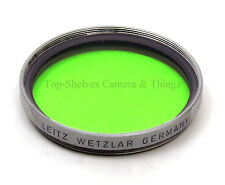 Leica HOOFG/13098/GGr/GREEN filter(1955)/Silver/E39ø Summicron,Elmar,Summaron