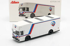 Mercedes-Benz O 317 Renntransporter BMW Motorsport weiß 1:43 Schuco
