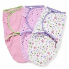 Clothing, Shoes & Accessories Purposeful Summer Lot Of Infant Girls Swaddles Sm Med 7-14 Pounds 0-3 Months Swaddle Me