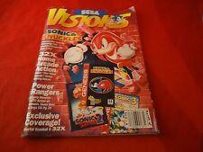 Sega Visions Magazine December/January 1995 Sonic & Knuckles Sega Genesis Cover