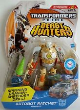 TRANSFORMERS PRIME BEAST HUNTERS AUTOBOT RATCHET DELUXE MOSC MOC MISB SEALED NEW