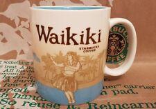 Starbucks City Mug/Tasse/Gobelet WAIKIKI/Hawaii, Global Icon, Neuf et inutilisé!!!