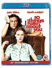 10 Things I Hate About You [Blu-ray], New, DVD, FREE & FAST Delivery