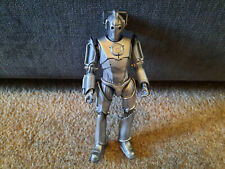 "Dr Who 5.5"" Cyberman Gun Arm action figure 2006 10th Doctor Rise of the Cybermen"