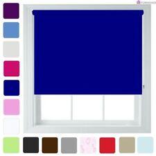 Stores bleues en tissu pour la maison