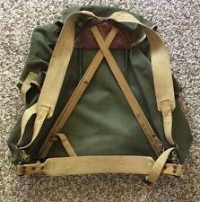 Vintage United Kingdom Army Military Rucksack Field Pack Backpack Bag by CP LTD
