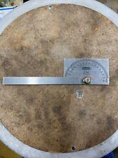 Craftsman Protractor No9 4029 Vintage Machinists Amp Woodworking Tools