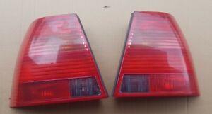 VW Bora Rear Lights Pair Hella All Red V5 V6 TDI