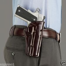 """Galco CCP Paddle Holster 1911's  3.5 """",  Right Hand Havana  #CCP218H"""