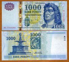 Hungary, 1000 Forint, 2006, Pick 195 (195b) UNC