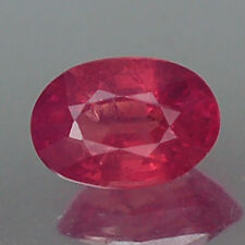 0.70CT CERTIFIED UNHEATED UNTREATED AA OVAL RED RUBY NATURAL