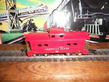 Low Priced Classic American Flyer #638 Red Caboose 2 Link Style Couplers