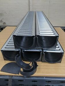 DRAINAGE CHANNEL DRIVEWAY & PATIOS 5mtr Galv Grating Inc FREE ACCESSORIES