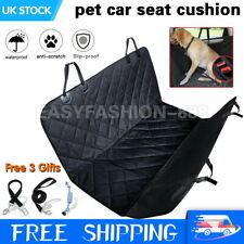 Waterproof Pet Dog Seat Cover Car Hammock Back Rear Protector Mat Non-slip UK