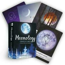 Moonology Oracle Cards: A 44-Card Deck and Guidebook by Yasmin Boland (2018, Cards)