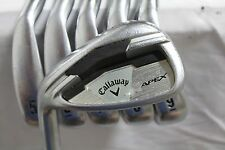 Used LH Callaway Apex Forged Iron set 5-PW KBS Tour 120 Stiff flex steel irons