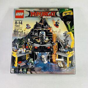 RETIRED - LEGO The Ninjago Movie 70631 Garmadon's Volcano Lair SEALED