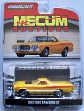 1972 Ford Ranchero GT gelb   Mecum Auctions  /  Greenlight 1:64