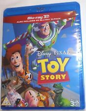 TOY STORY Brand New 3D BLU-RAY (and 2D) Region-Free Pixar Import Ships from USA