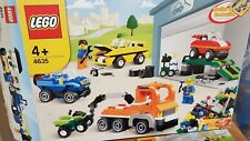 Lego 4635 Fun with Vehicles. With instructions, box & minifigures