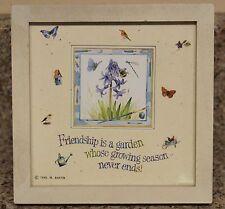 Friendship Garden Picture Frame Marjolein Bastin Nature's Sketchbook